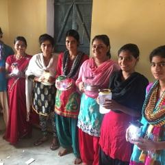 Workshop in rural India